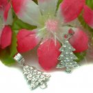 925 STERLING SILVER CHRISTMAS TREE CHARM / PENDANT #16