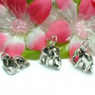 925 STERLING SILVER ELEPHANT CHARM / PENDANT #1