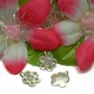 THAI KAREN SILVER HANDMADE ROSE FLOWER CHARM / PENDANT