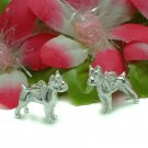 925 STERLING SILVER BOSTON TERRIER DOG CHARM / PENDANT