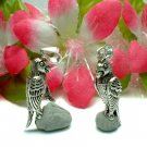 925 STERLING SILVER PARROT (MOVABLE) CHARM / PENDANT