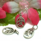 925 STERLING SILVER CHINESE SYMBOL CHARM PENDANT - LOVE