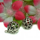 STERLING SILVER FILIGREE STAR & LOVE BALL CHARM PENDANT