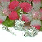 925 STERLING SILVER PERFUME BOTTLE CHARM / PENDANT #7