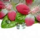 925 STERLING SILVER LOVE HOUSE STUD EARRINGS
