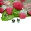 925 STERLING SILVER PORCUPINE STUD EARRINGS