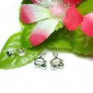 925 STERLING SILVER BRA ON HANGER STUD EARRINGS
