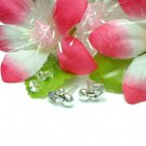 925 STERLING SILVER CHERRIES STUD EARRINGS