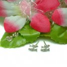 925 STERLING SILVER PISCES FISH STUD EARRINGS