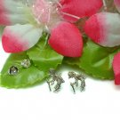 925 STERLING SILVER KOKOPELLI STUD EARRINGS #207