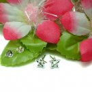 925 STERLING SILVER STAR STUD EARRINGS #181