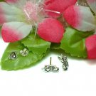 925 STERLING SILVER CELL PHONE STUD EARRINGS