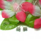 925 STERLING SILVER BERMUDA SHORTS STUD EARRINGS