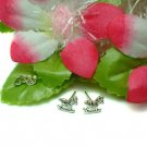 925 STERLING SILVER ROCKING HORSE STUD EARRINGS