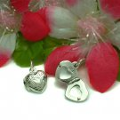 STERLING SILVER PUFFED HEART PHOTO LOCKET / PENDANT #10