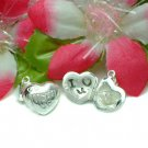 STERLING SILVER MOM HEART (OPENS TO RING) CHARM PENDANT