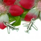 925 STERLING SILVER JET AIRPLANE CHARM / PENDANT