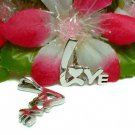 925 STERLING SILVER LOVE SLIDER PENDANT