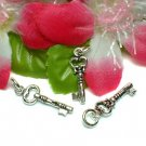 925 STERLING SILVER LOVE KEY CHARM / PENDANT
