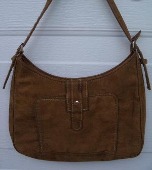 Ultra Suede Off The Shoulder Purse