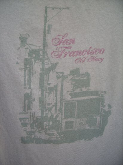 Old Navy San Francisco Tee SIZE SMALL