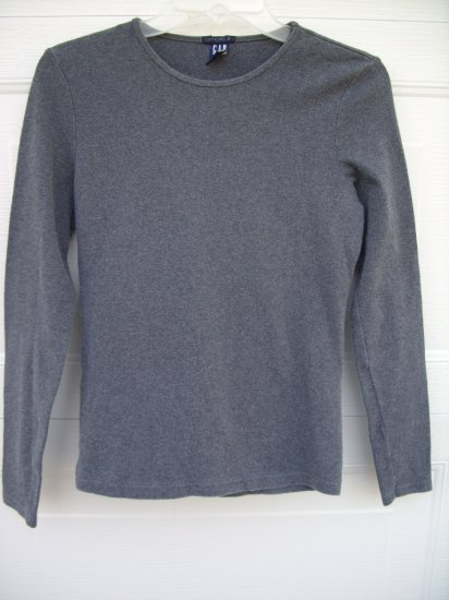Gap LS Grey Tee SIZE MEDIUM