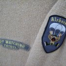 "Tilt ""Boy Watching Patrol, Airborne"" Sweater SIZE XL"