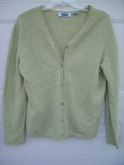 Old Navy Lime Green Cartigan Sweater SIZE XL