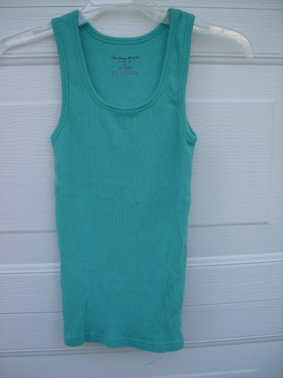 Old Navy Turqoise Perfect Fit Tank SIZE XSmall