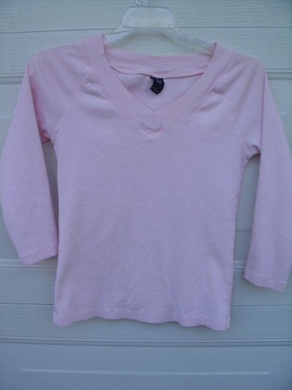 Gap Light Pink Triangle Tee SIZE SMALL