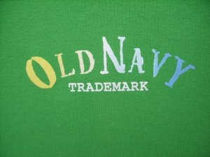 Old Navy Easy Fit Green Tee SIZE LARGE
