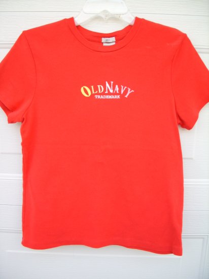 Old Navy Easy Fit Red Tee SIZE LARGE