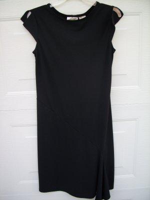 Kathie Lee Black Dress SIZE SMALL 4/6