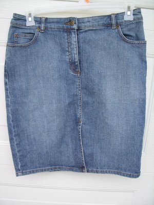 The Limited Stretch Denim Skirt SIZE 10