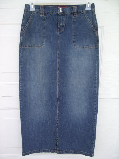 Unionbay Medium Wash Denim Skirt SIZE 7
