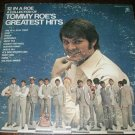 Tommy Roe&#39;s Greatest Hits 12 in a Roe LP RECORD