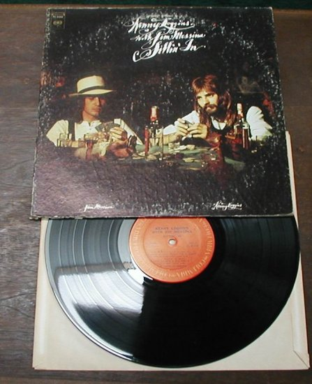 KENNY LOGGINS JIM MESSINA SITTIN'IN RECORD 33 RPM