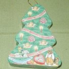 HERSHEY'S CHOCOLATE KISS CHRISTMAS TREE ORNAMENT BOX
