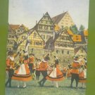 FRANKFORT GERMANY SALTDANCERS POST CARD SCHWABISCH HALL