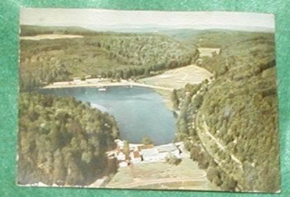 FRANKFORT GERMANY POSTCARD RIVER GELTERSWOOG HOTEL