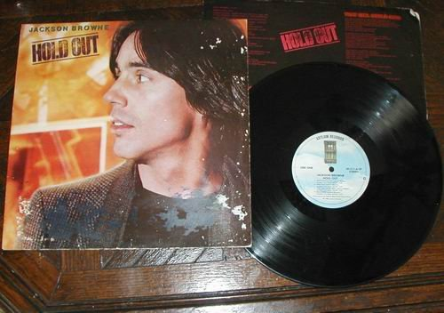 Jackson Browne Hold Out LP 33 RECORD ROCK