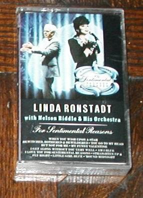 For Sentimental Reasons - Ronstadt, Linda Cassette ROCK
