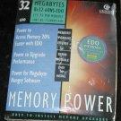 32 MB EDO Memory Power PentiumII, Pentium III 72 PIN MO