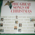 GREAT SONGS OF CHRISTMAS GOOD YEAR TIRE COMPANY RECORD