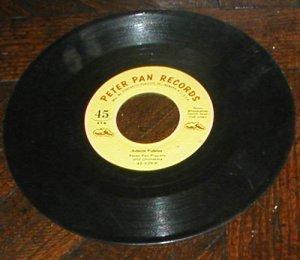 VINTAGE CHILDREN'S RECORD 45 DRUMMER BOY  CHRISTMAS
