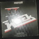 MAXELL 33 RECORD ALBUM ROCK II SAMPLER RCA MINTY LP .