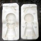 CERAMIC MOLD DONA'S SWEET TOTS BOY ANGEL /HORN  CUTE