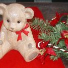 TEDDY BEAR PLANTER HOLLAND FLORAL CO NURSERY VASE PINES