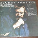 RICHARD HARRIS HIS GREATEST PERFORMANCES RECORD 33 LP COVER