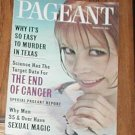 PAGEANT MAGAZINE MARCH 1964 VINTAGE SO EASY TO MURDER IN TEXAS END OF CANCER MEN